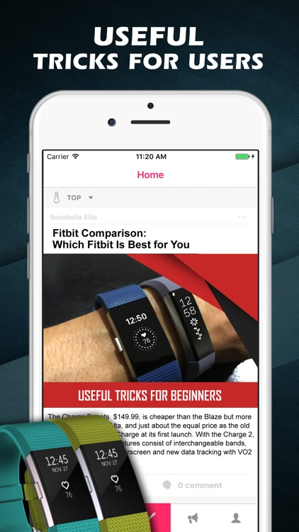Guide for Fitbit Charge HR 2