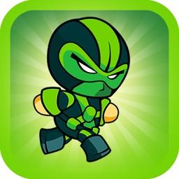 Killer Robot Game - Green Ninja Version
