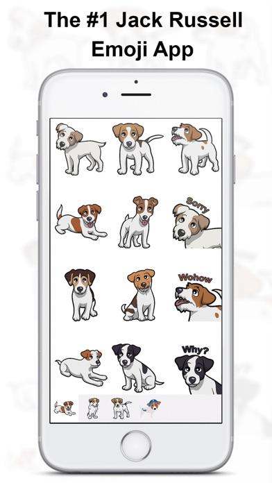 JackMoji - Jack Russell Emoji & Stickers Screenshot 1