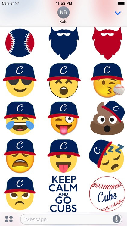 Baseball Sticker Pack Cubs Experience