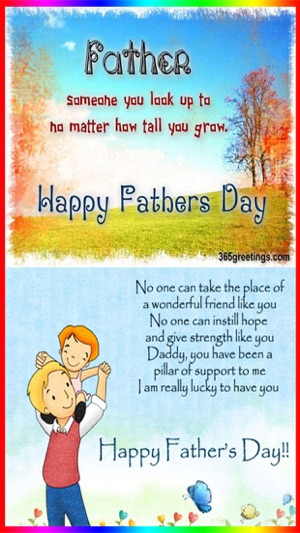 Happy fathers day cards wishes on the app store screenshots m4hsunfo