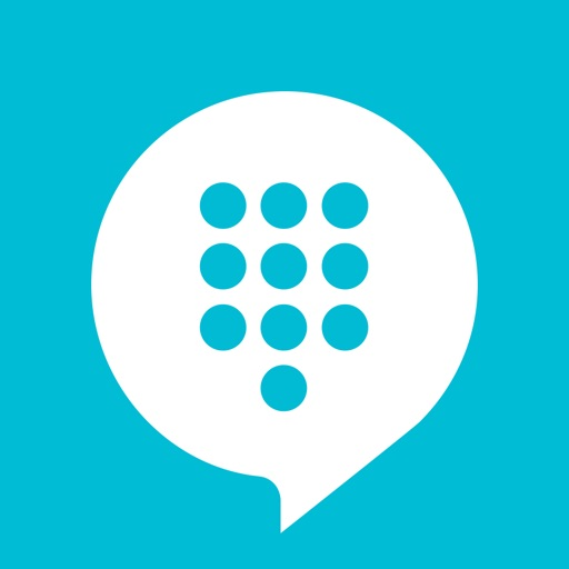 TextMe Up - Free Text, Call & Private Phone Number app logo