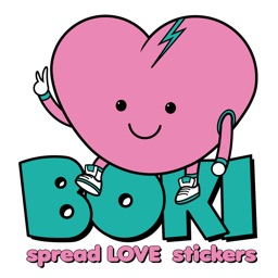 BOKI SPREAD LOVE STICKERS