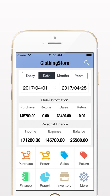 Shoes Clothing Store Master - Invoicing Software