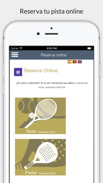 Piélagos deportes screenshot 2