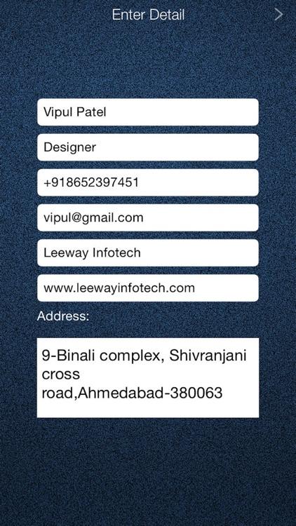 Business Card Maker - Design a Business Card