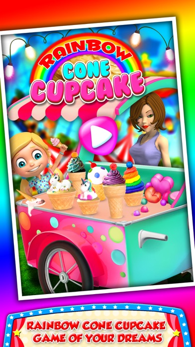 DIY Ice Cream On Cupcake! Cool Desserts Chef Game screenshot one
