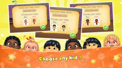 iPal Baby – Virtual Baby Childcare Simulator Basic Screenshot on iOS