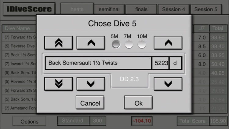 iDiveScore screenshot-2