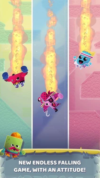 Canyon Crash - Fall Down screenshot-0