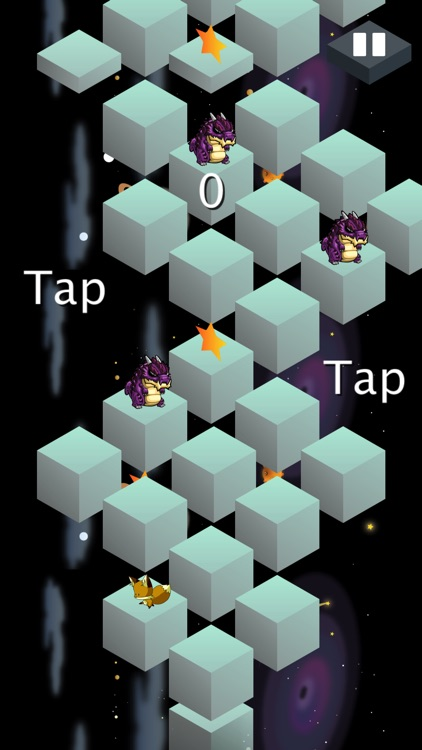 Jump in Space - animal run and jump game