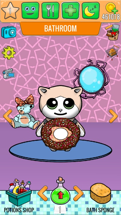 My Talking Cat - Virtual Pet Games For Kids screenshot-3