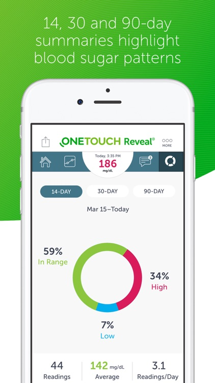 OneTouch Reveal screenshot-2