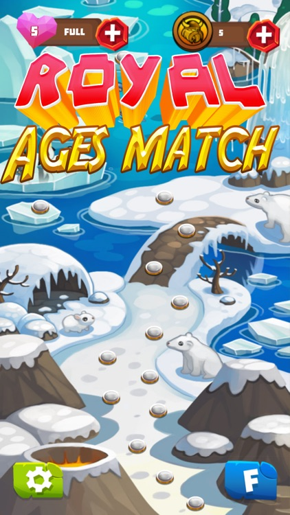 Royal ages of match