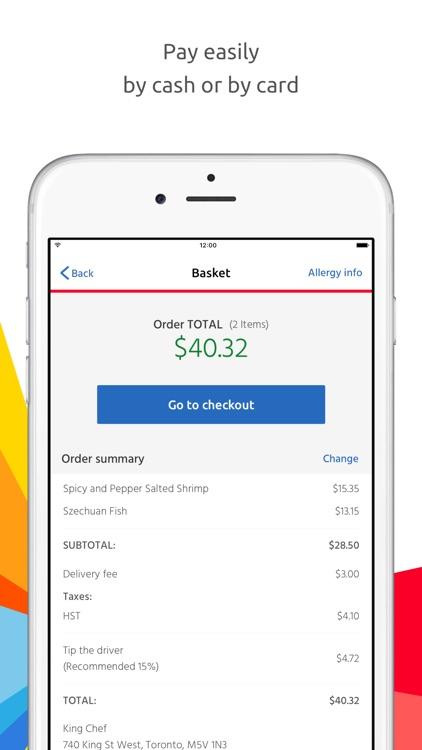 Just Eat - Order Food Delivery screenshot-4