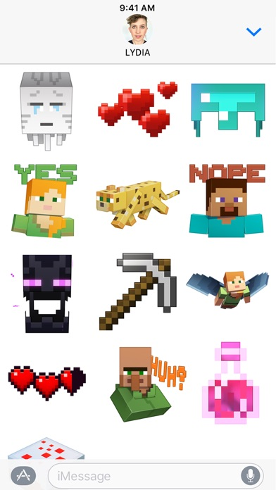 Minecraft Sticker Pack Screenshot