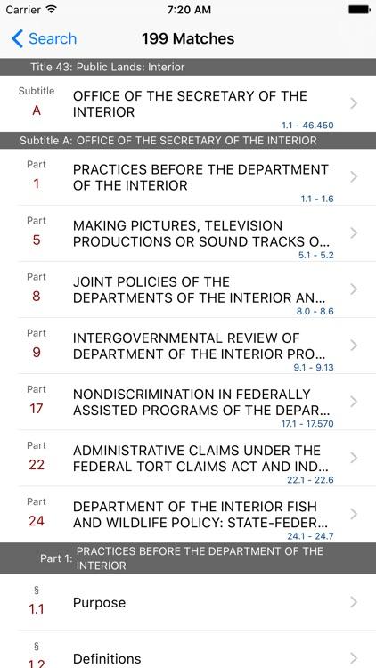 43 CFR - Public Lands: Interior (LawStack Series) screenshot-4