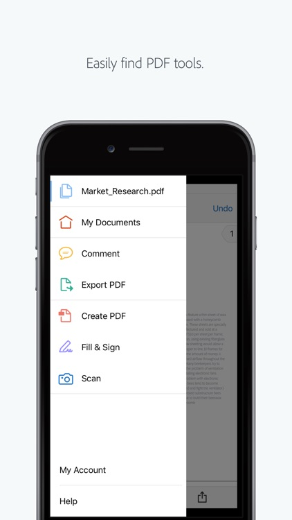 Adobe Acrobat Reader: View, Create, & Convert PDFs app image