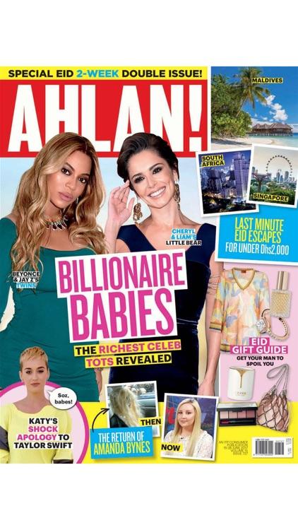 AHLAN! MAGAZINE - DUBAI'S BIGGEST SELLING CELEBRITY WEEKLY MAGAZINE