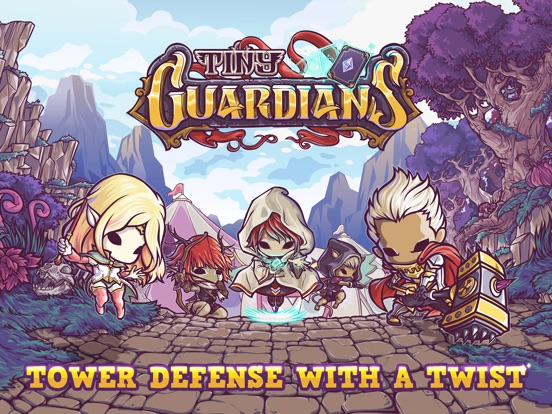 Tiny Guardians на iPad