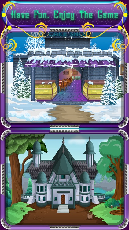 Winter Escape Games - Santa Christmas screenshot-3