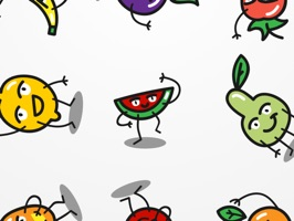Funny Fruit Emojis is the best Emojis App for all the fruits lovers around the world
