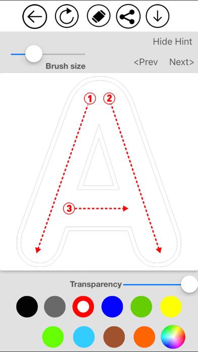 ABC Alphabet & Number Coloring screenshot 2
