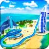 虚拟现实 海滩 水 滑动 - 水 绝技 & 骑