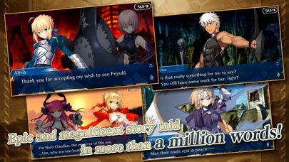 Screenshot of Fate/Grand Order (English) App