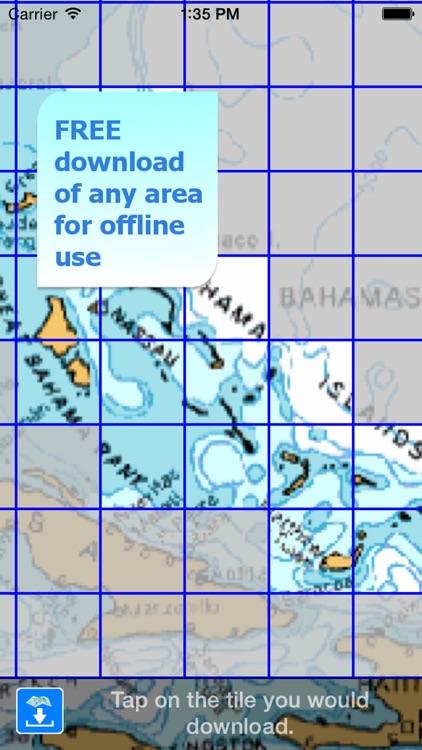 Aqua Map Bahamas HD Pro - GPS Wavey Line Charts screenshot-4