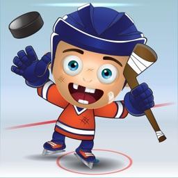 Edmonton Hockey Emojis & Stickers Orange & Blue