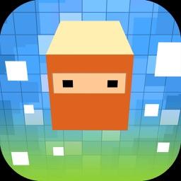 Pixelate Blocky Ninjas Dash