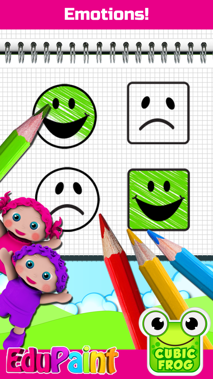 Kids Coloring Book-EduPaint Screenshot