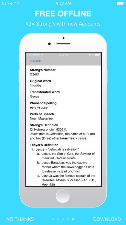 The Holy Bible - King James Version screenshot-0