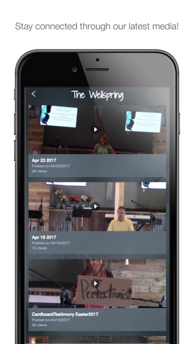 The Wellspring Church app image