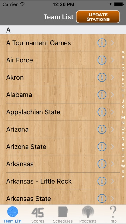 College Basketball Radio, Schedule & Live Scores screenshot-1