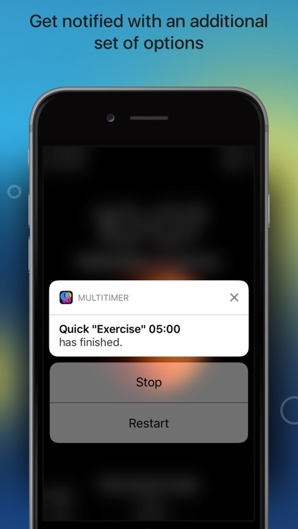 MultiTimer: Visual timer with multiple timers screenshot-4
