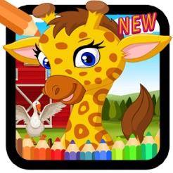 çocuklar Için Boyama Oyunları Hayvan Boyama App Storeda