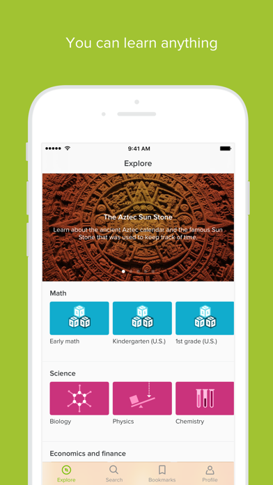 download Khan Academy apps 3