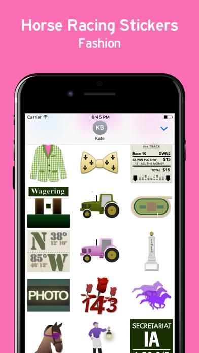 Horse Racing Sticker Pack screenshot three