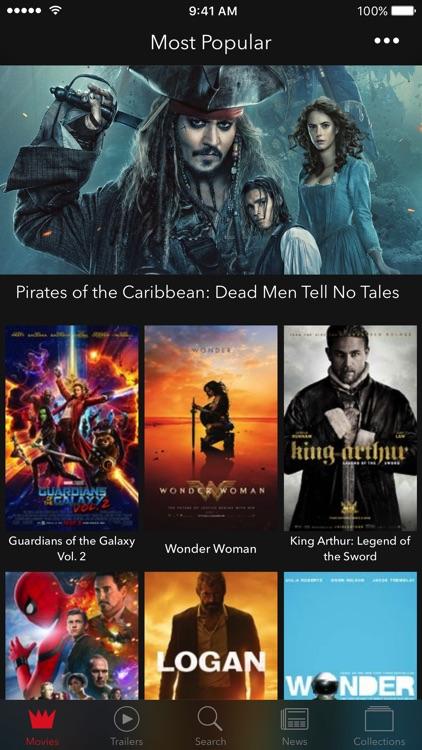 Movie Master - Movies & Trailers screenshot-0
