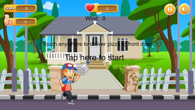 Pizza Delivery Game