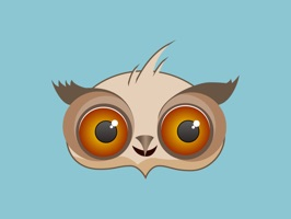 """Use """"Amusing Owl Stickers"""" to share with your friends chatting a funny owl, which makes your day a little better"""