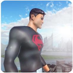 Superheld Kriminalität Kämpfer Rettung