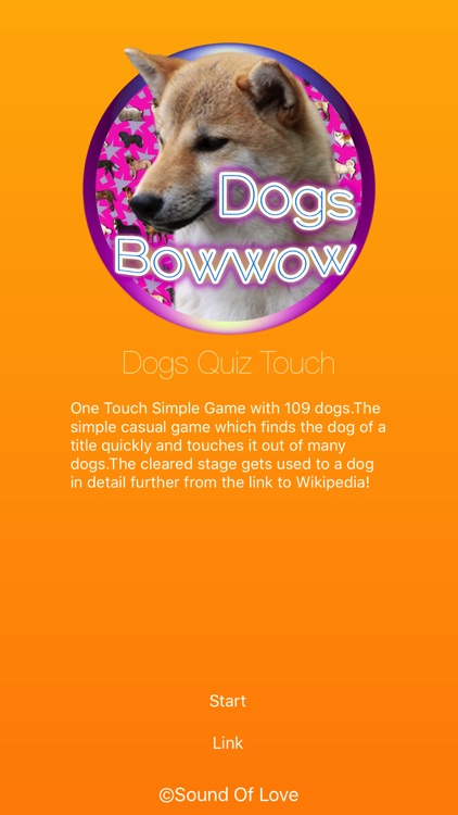 Dogs Quiz Bowwow Touch : Simple Game with 109 Dogs screenshot-4