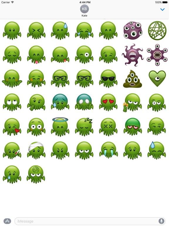 Cthulhu Emojis screenshot 3