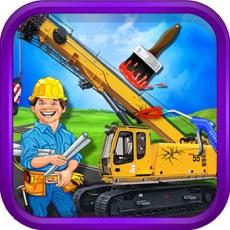 Activities of Construction Truck Workshop - kids Education Game