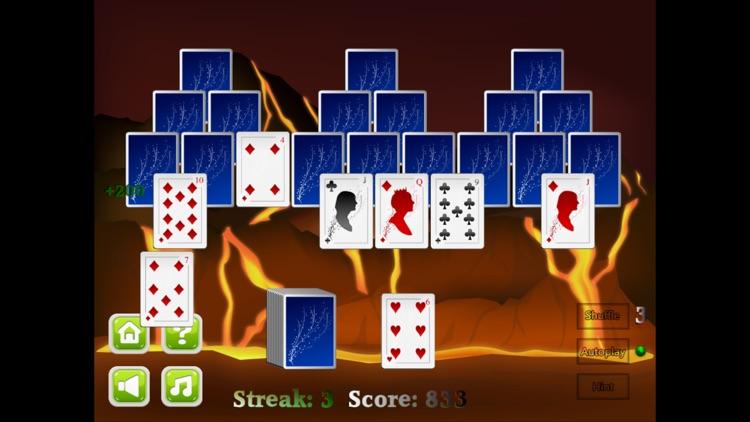 TriPeaks Solitaire card game screenshot-4