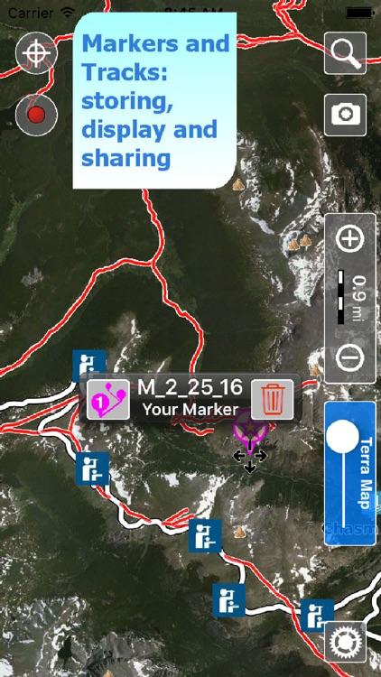 Trails of Rocky Mountain NP - GPS Maps for Hiking screenshot-3
