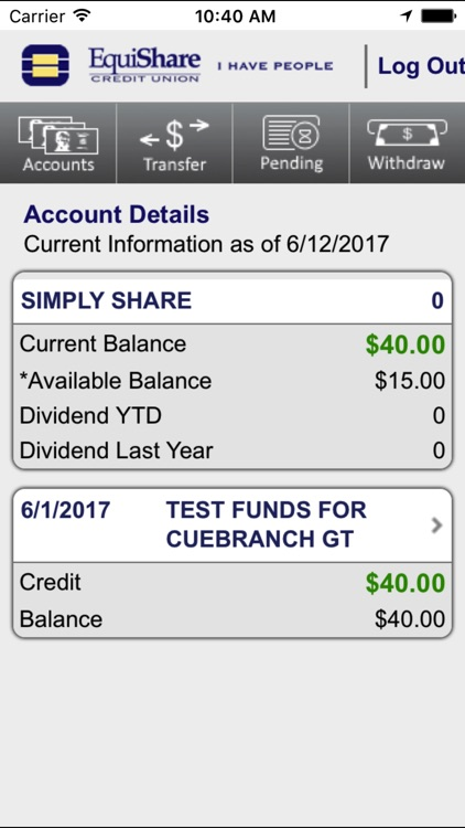 EquiShare Mobile Banking screenshot-3